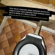 Funny toilet message