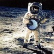 Banjo on the moon